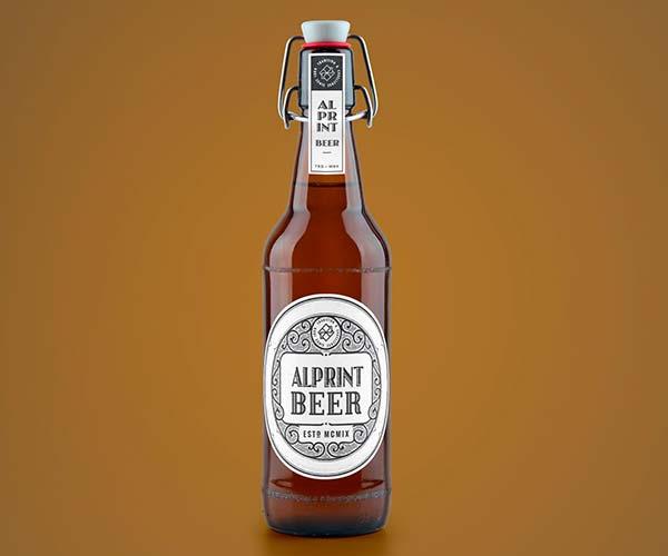 Stampa etichette adesive birra Alprint
