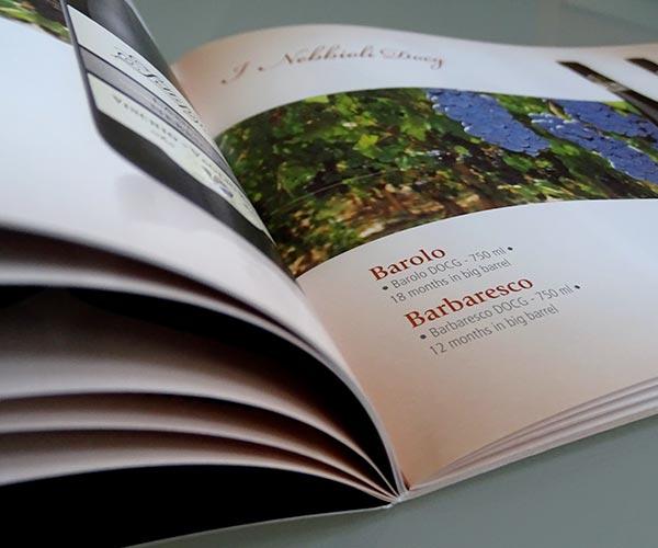 Stampa catalogo personalizzata punto metallico Alprint